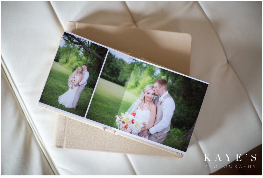 Kaye's Photography Wedding Albums