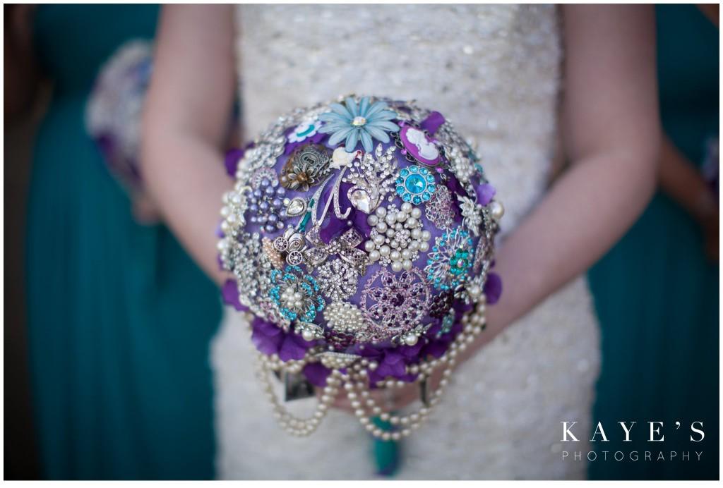 brides bouquet homemade