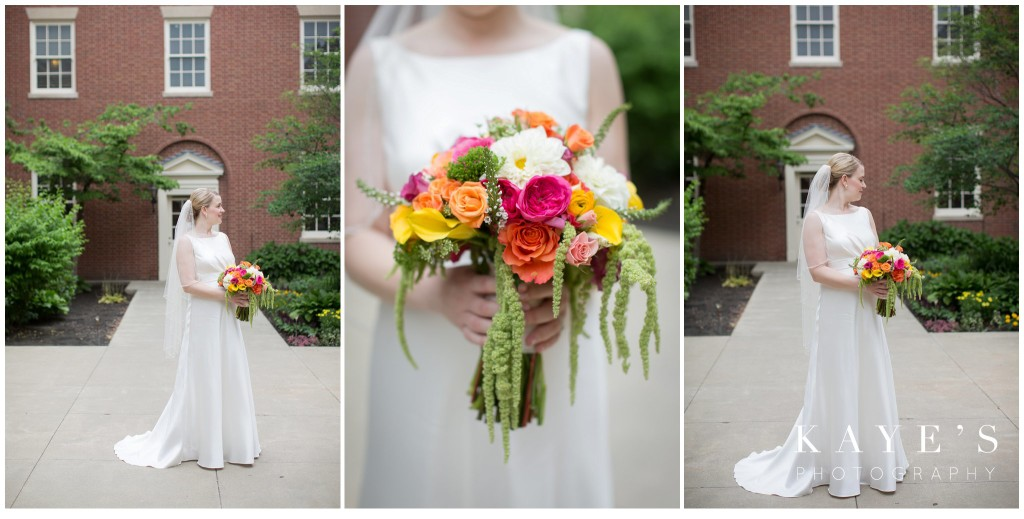 wedding, henry ford, bouquet, flowers, bride