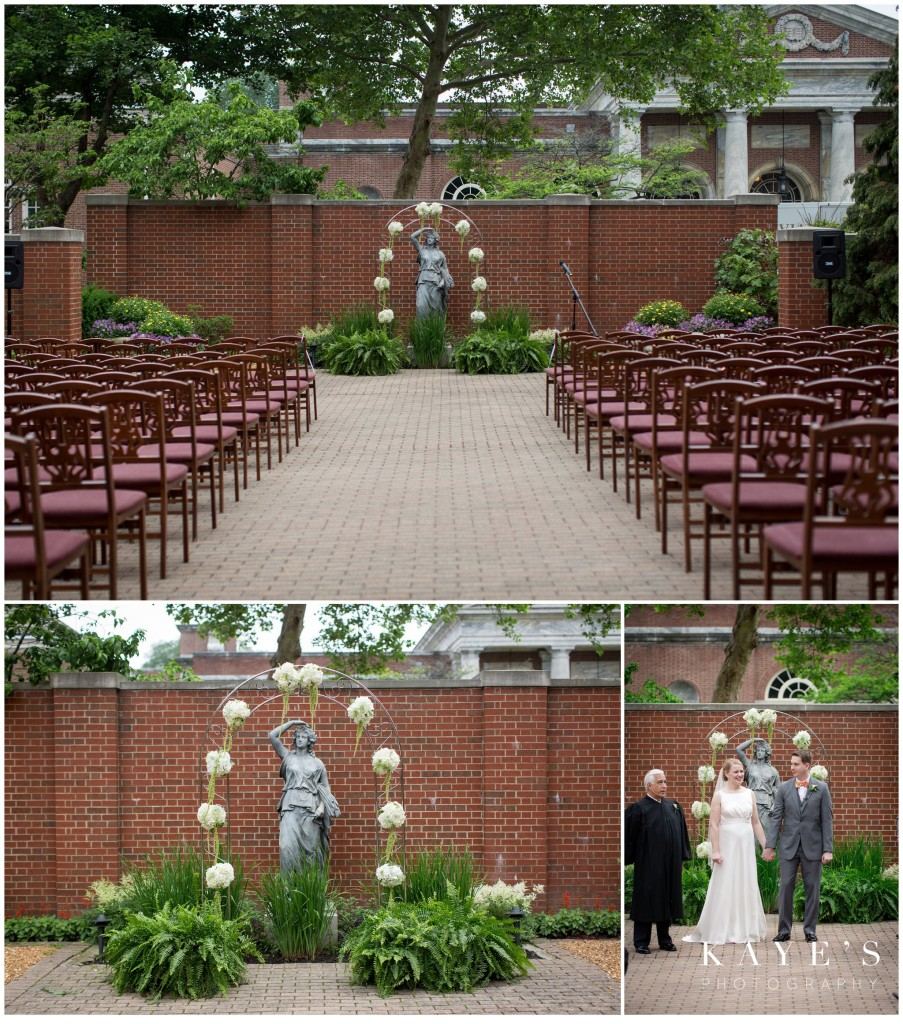 wedding, henry ford, bride and groom, seating, wedding set up