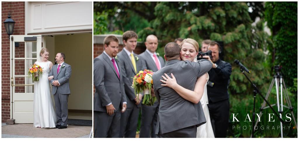 wedding, bride, groom, henry ford lovett