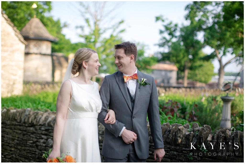 bride and groom, wedding, henry ford lovett