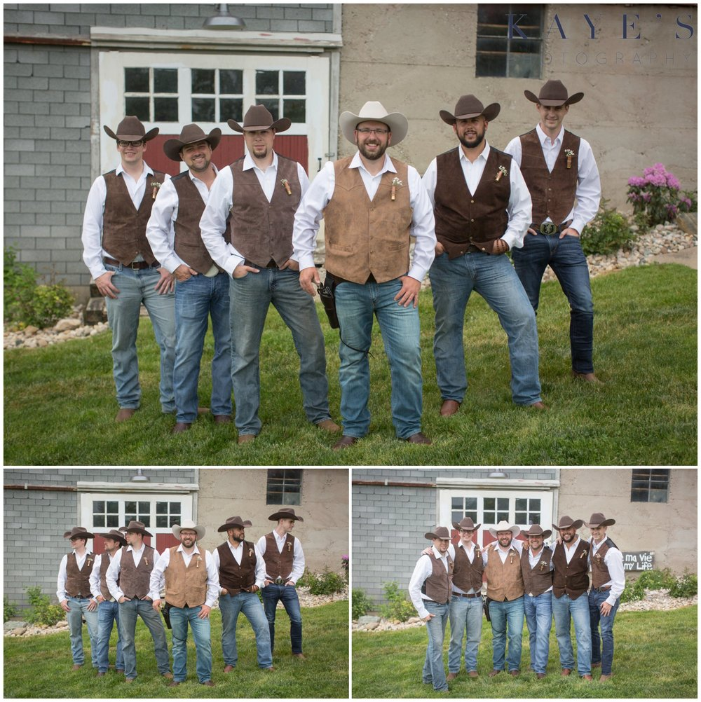 Hudsonville Michigan Wedding Photographer, Hudsonville Michigan Wedding Photography, The Old Wooden Barn Hudsonville Michigan Wedding photography, groom with groomsmen, groom with his guys, groom in front of barn, barn wedding