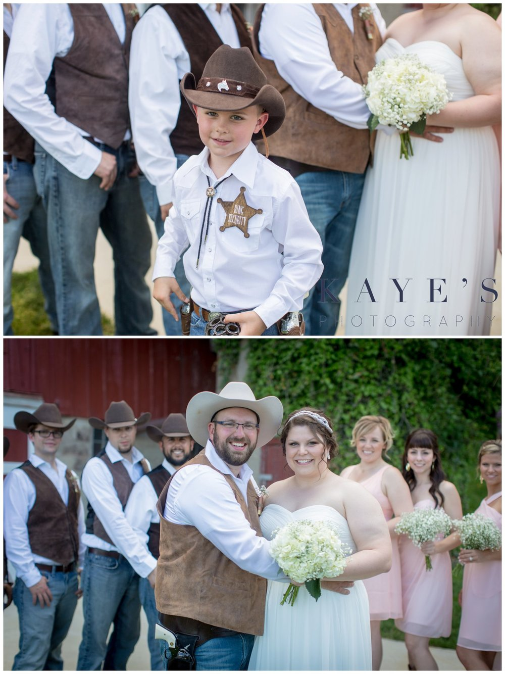 Hudsonville Michigan Wedding Photographer, Hudsonville Michigan Wedding Photography, The Old Wooden Barn Hudsonville Michigan Wedding photography, bride and groom with wedding party, bride and groom together, barn wedding, ring bearer
