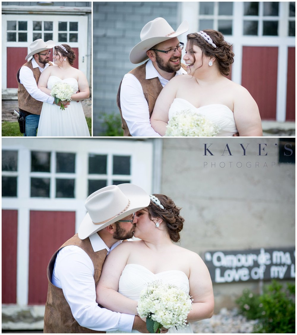 Hudsonville Michigan Wedding Photographer, Hudsonville Michigan Wedding Photography, The Old Wooden Barn Hudsonville Michigan Wedding photography, bride and groom kissing, bride and groom in love, barn wedding, bride and groom laughing