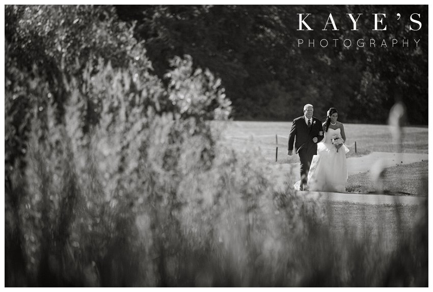 Captain's Club Wedding Photographer, Captains Club Grand Blanc Michigan Wedding photography, grand blanc michigan wedding portraits,mid michigan wedding photography, father walking with bride, father of the bride, give away the bride