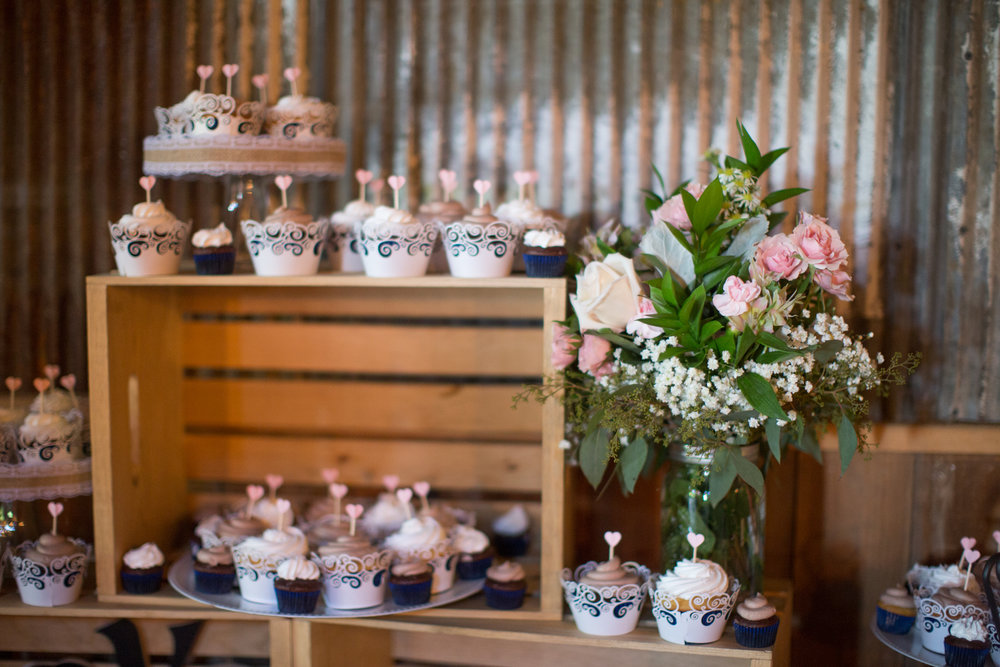 gorgeous dessert setup during wedding photos in Detroit Michigan