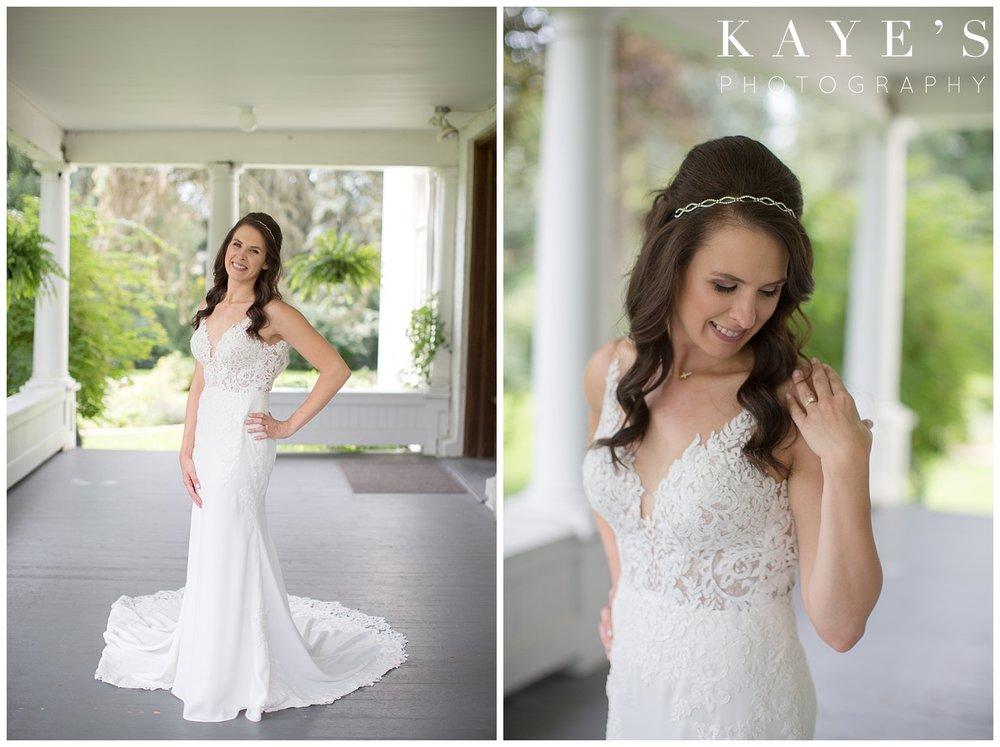 bridal portraits with kaye's photography in farmington michigan