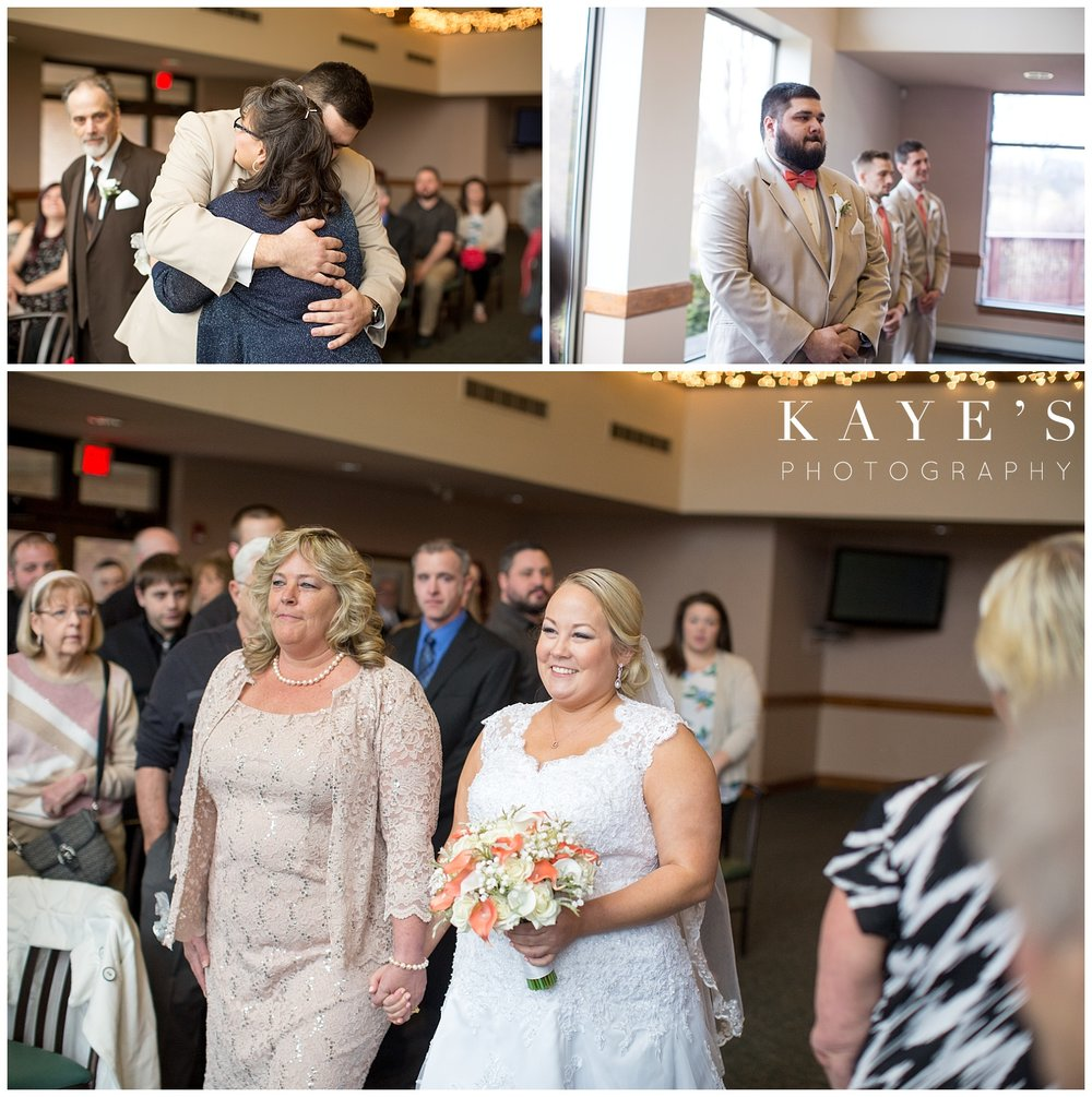 indoor ceremony location in lapeer michigan with great natural light