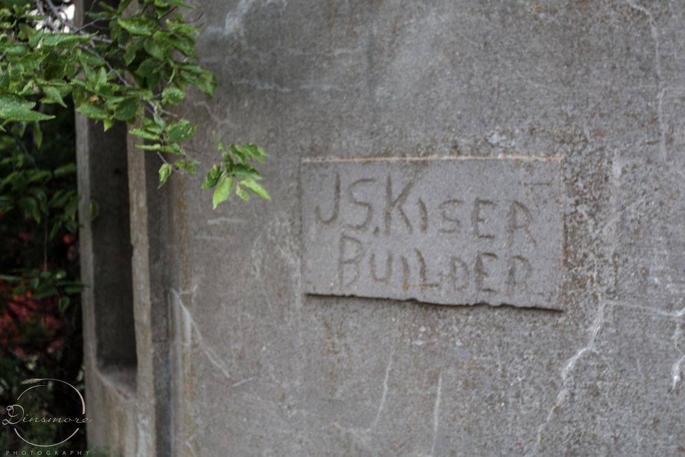 J.S. Kiser - Builder of Silos in the 1900's