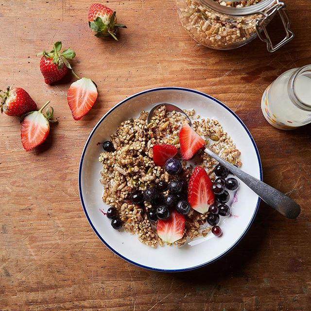 A berry start to the day 🍓