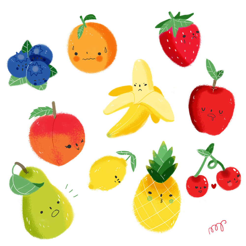Fruits & Faces