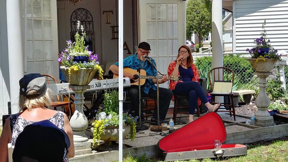 Dr Harp and Sweet Melissa Porch fest.jpg
