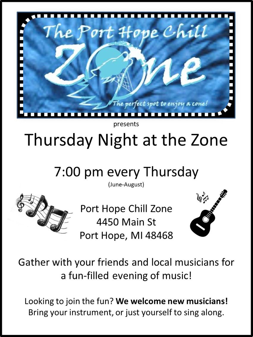 Live Music Events — Port Austin Music