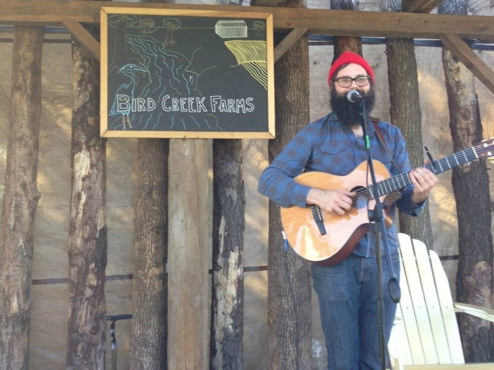 The Tap Room at Bird Creek Farms - The Tap Room at Bird Creek Farms will continue to bring great music to their gorgeous outdoor amphitheater.