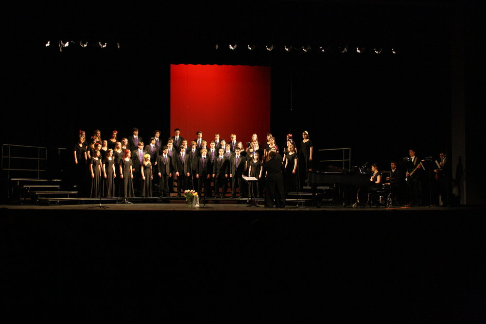 Amy playing with NH Chorus