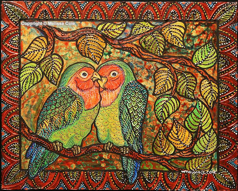 BRD-169_TwoLittleLovebirds_Copyright_Melissa_Cole