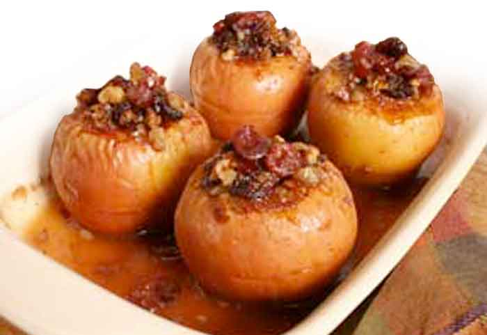 Baked Apples Stuffed with Cranberries and Walnuts — Auvil ...