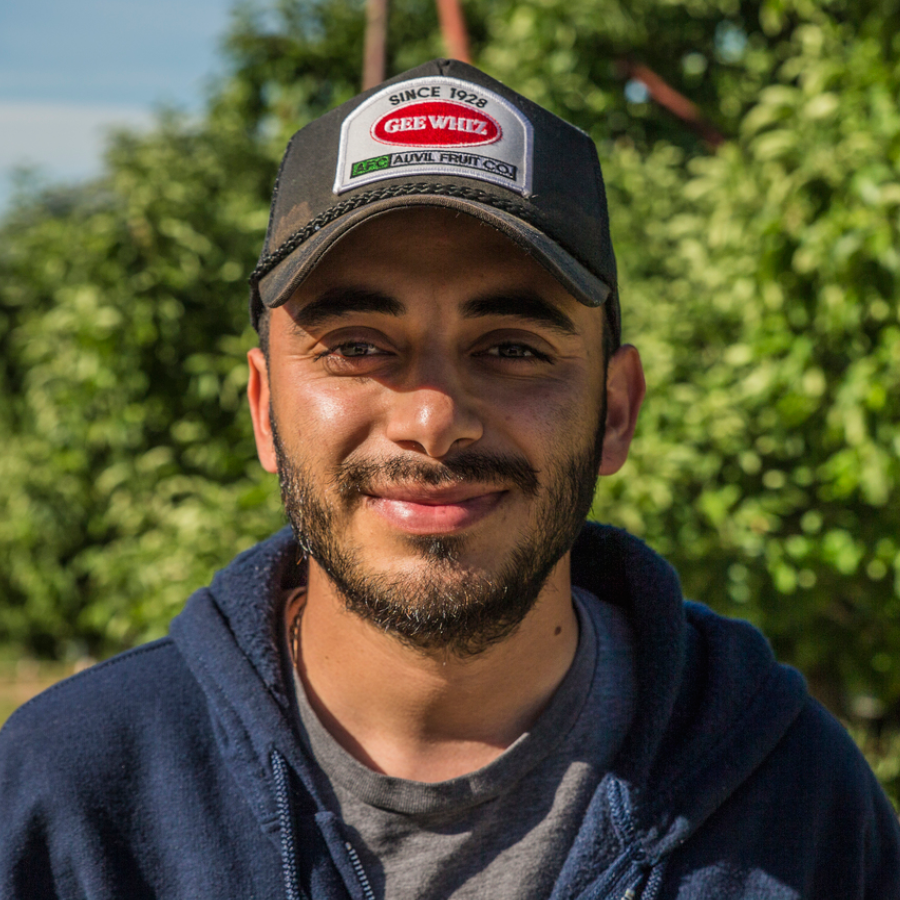 Andy Arvizu Assistant Orchard Manager, Orondo