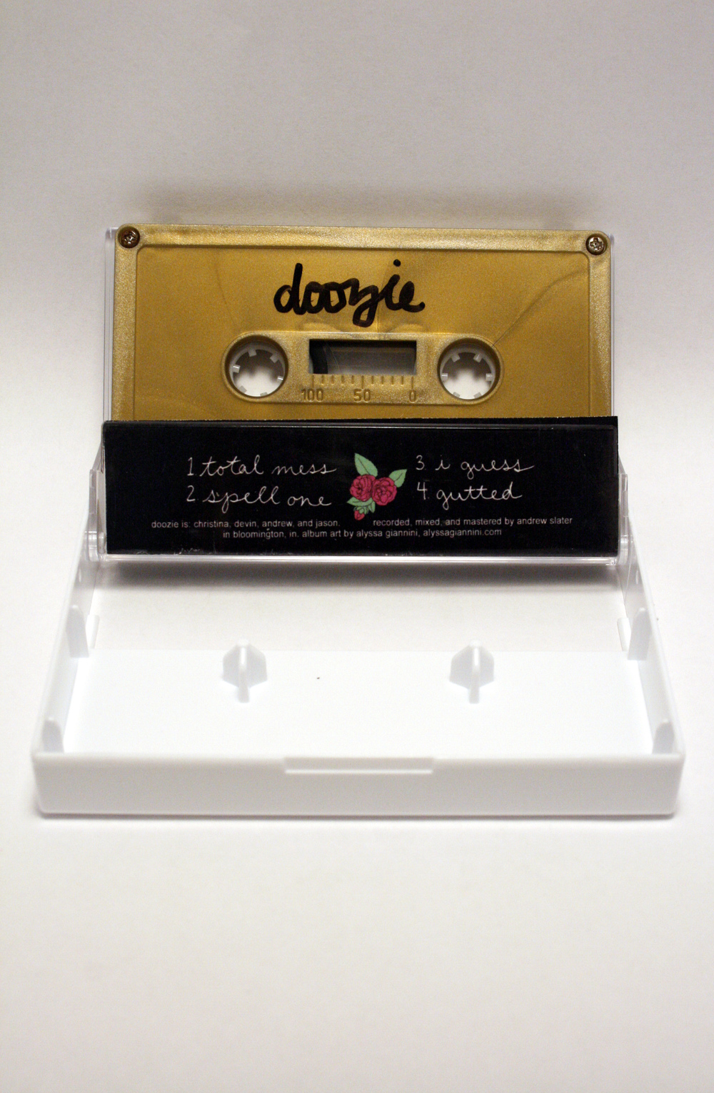 cassette art for doozie
