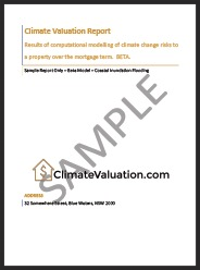SAMPLE CLIMATEVALUATION REPORT