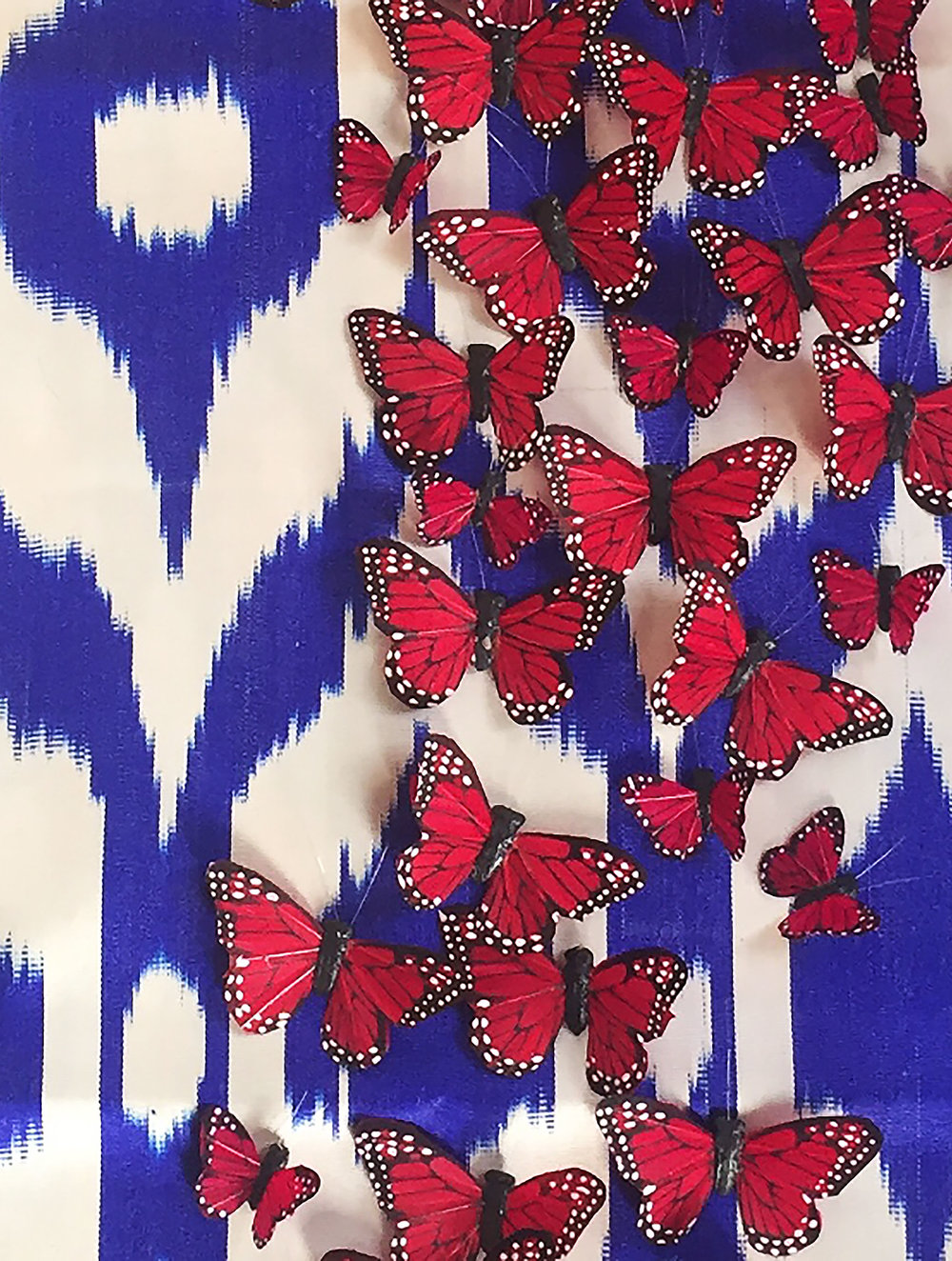 FAUX BUTTERFLIES