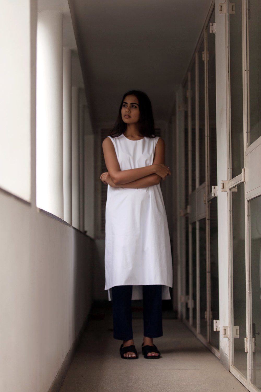 Reversible Kurta Shift Dress