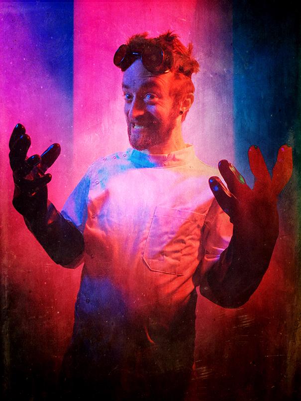 Dustin Gluvna (Foul Is Fair Productions, Ann Gora Productions) as Doctor Gluvenstein
