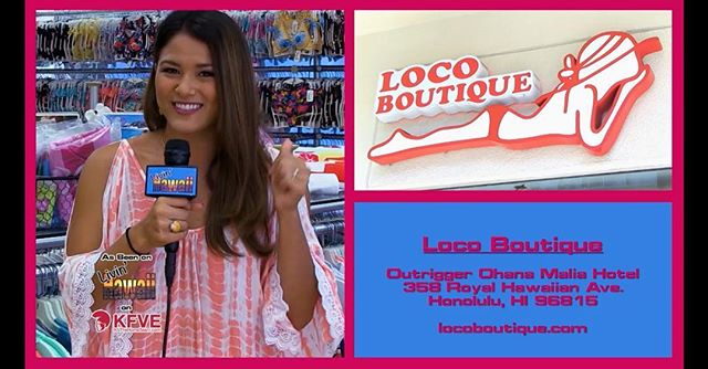 Tonight, Crystal and the models shop for swimwear at Loco Boutique, then have lunch at Heavenly Island Lifestyle in Waikiki.  6pm on KFVE!