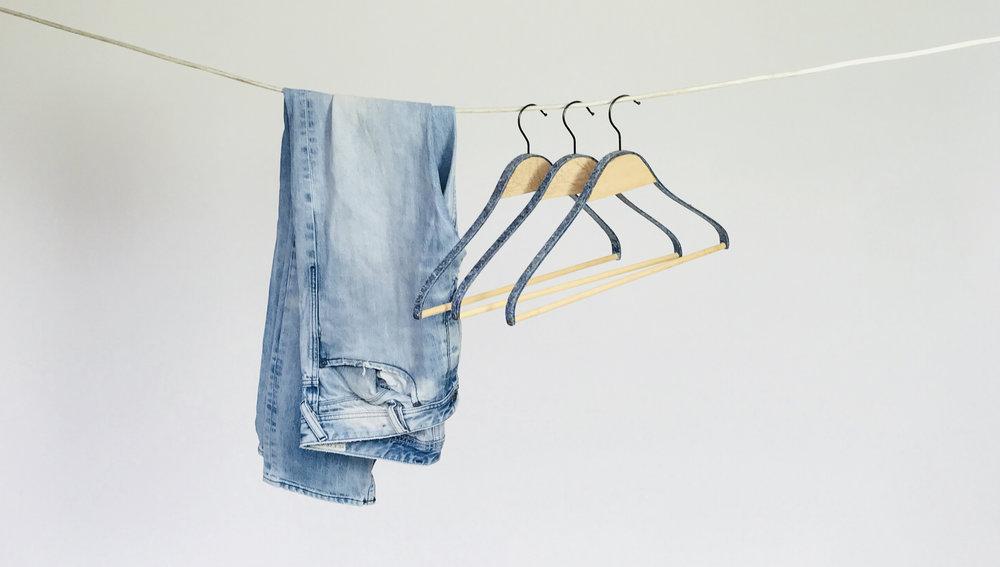 clothes hanger.