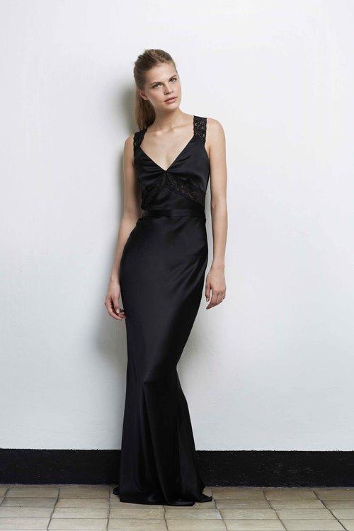 NOEMIE Silk & Lace Mermaid Dress — luxury silk lingerie & loungewear ...