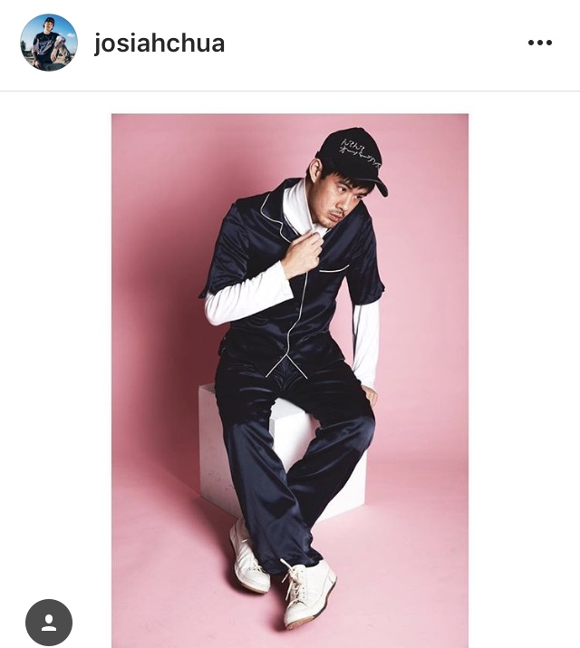 @josiahchua ELOISE Pajama Jacket & MANON Pajama Trousers in Midnight