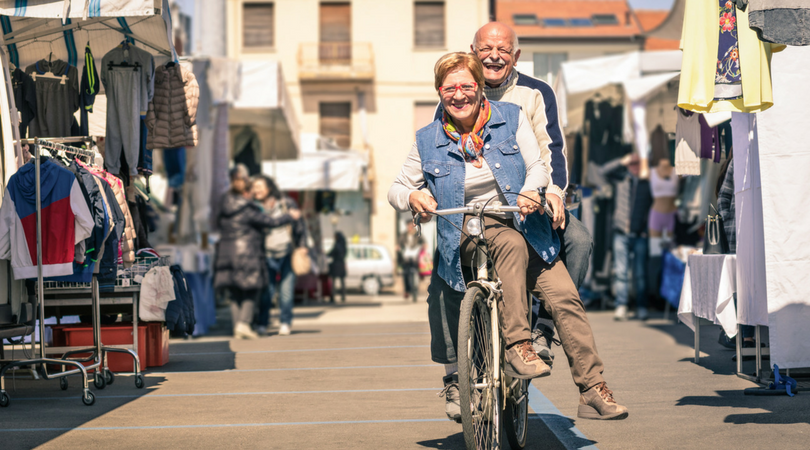 retirement-bike-ride-markets