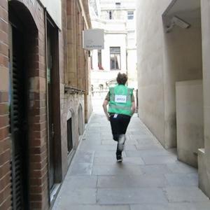 """""""Hidden alleyways make great escape routes."""""""
