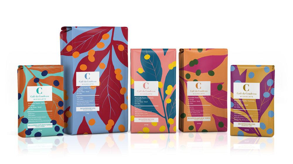 Nova linha de embalagens e marca desenvolvidas pela agência Casa Rex.