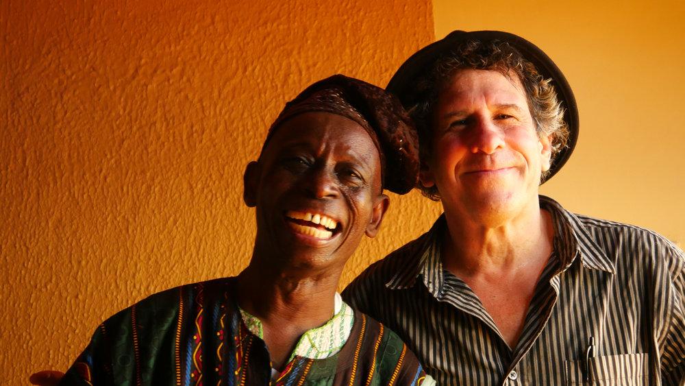 Abubakari Merigha(YAYA) AND aNDY tEIRSTEIN Photo by Cari Ann Shim Sham