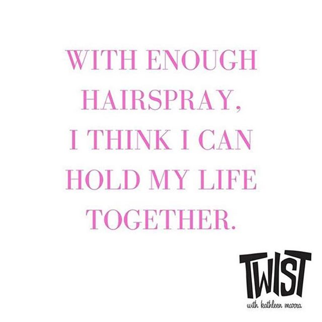 Who agrees?! Don't forget - tomorrow is Friday! #TwistKittery  ___ #hairdresser #portsmouthnh #kitteryme #kittery #quote #hairstylist #haircolor #olaplex #haircolorist #hairbesties #behindthechair #longhairdontcare #modernsalon #btcpics #phildoeshair #vscohair  #hairlife #balayage #blonde #blondhair #brunette #redhair #redhairdontcare #naturalhair #naturalista #curlyhair #thecutlife #hairlife #qotd #hairquote