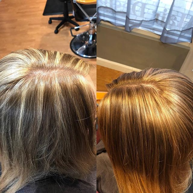 Toning is everything... had a client come in with foils that she felt was to bright.  I helped her out with toning them down. So glad I was able to help her out.