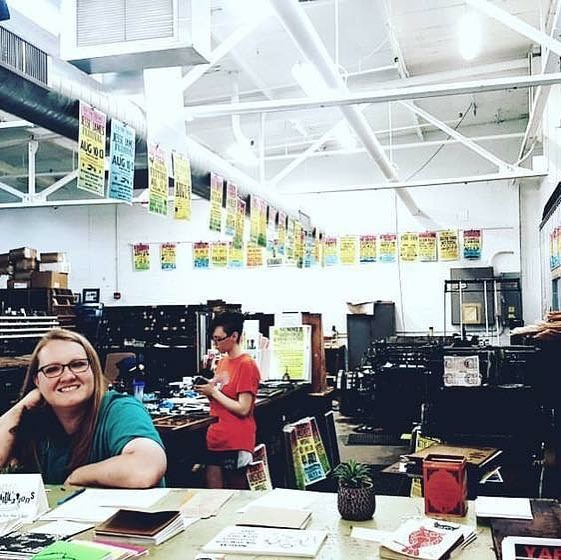 Two years ago this weekend we moved the Tribune two hours across the state! THANK YOU to everyone who has supported us through the last two years. It's been a fun and crazy ride so far. #letterpress #thankyou #thankful #posters #print #moveweekend