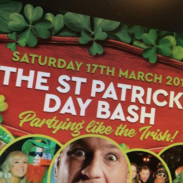 Not long til St Patrick's day.. #flyerdesign #tagdesignuk