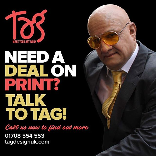 Need some print for your business and need it quick? #talktotag #tagdesignuk# #printing
