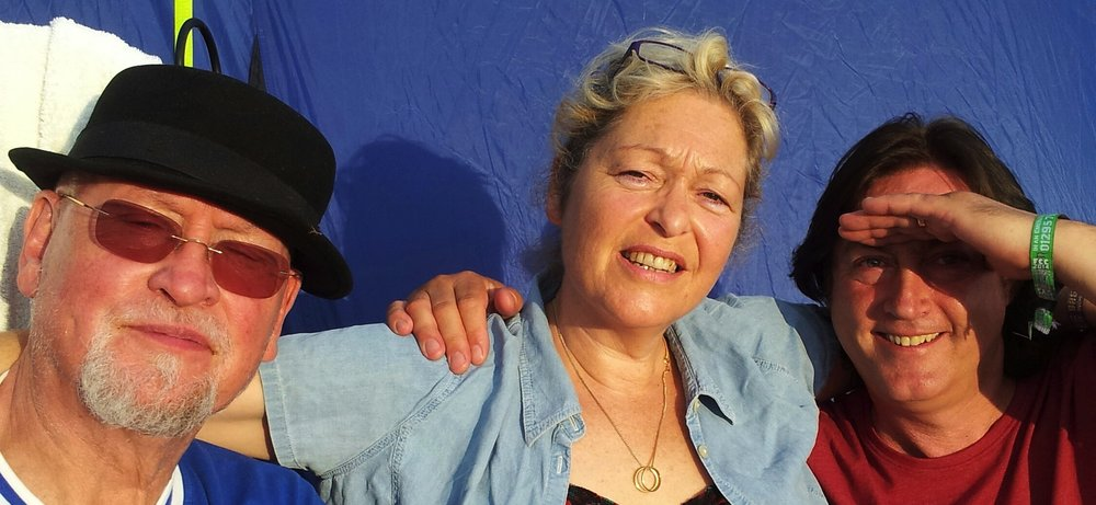 Sally Barker with Danny Thompson and Alan Thompson.jpg
