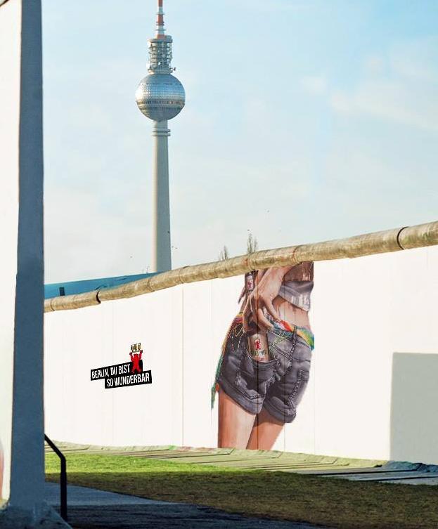 Nina JP for Berliner Pilsner #berlindubistsowunderbar Berlin, GER