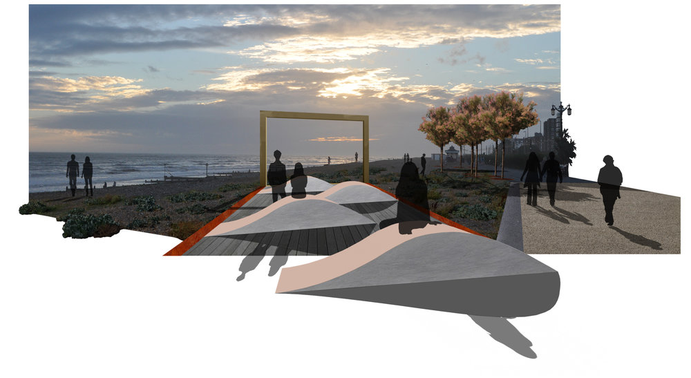 Seafront Promenade, Worthing,  Concept Design