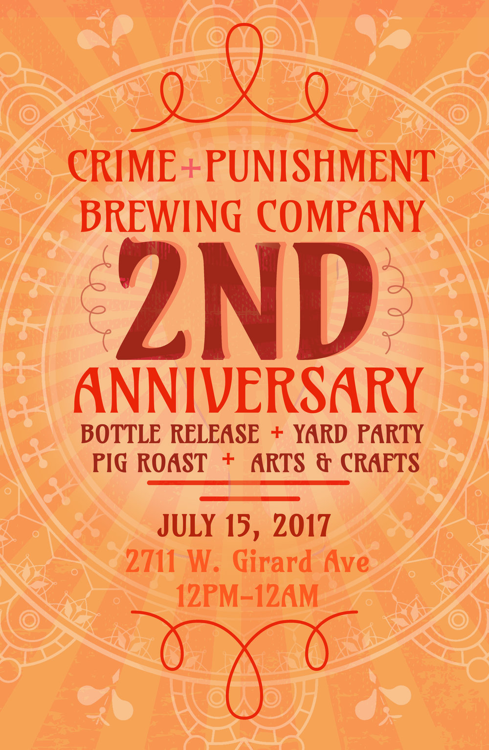 Crime and Punishment Brewing Co 2nd Anniversary