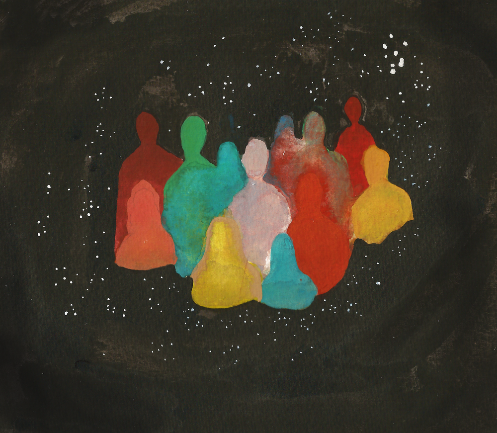 Crowd (family in space)