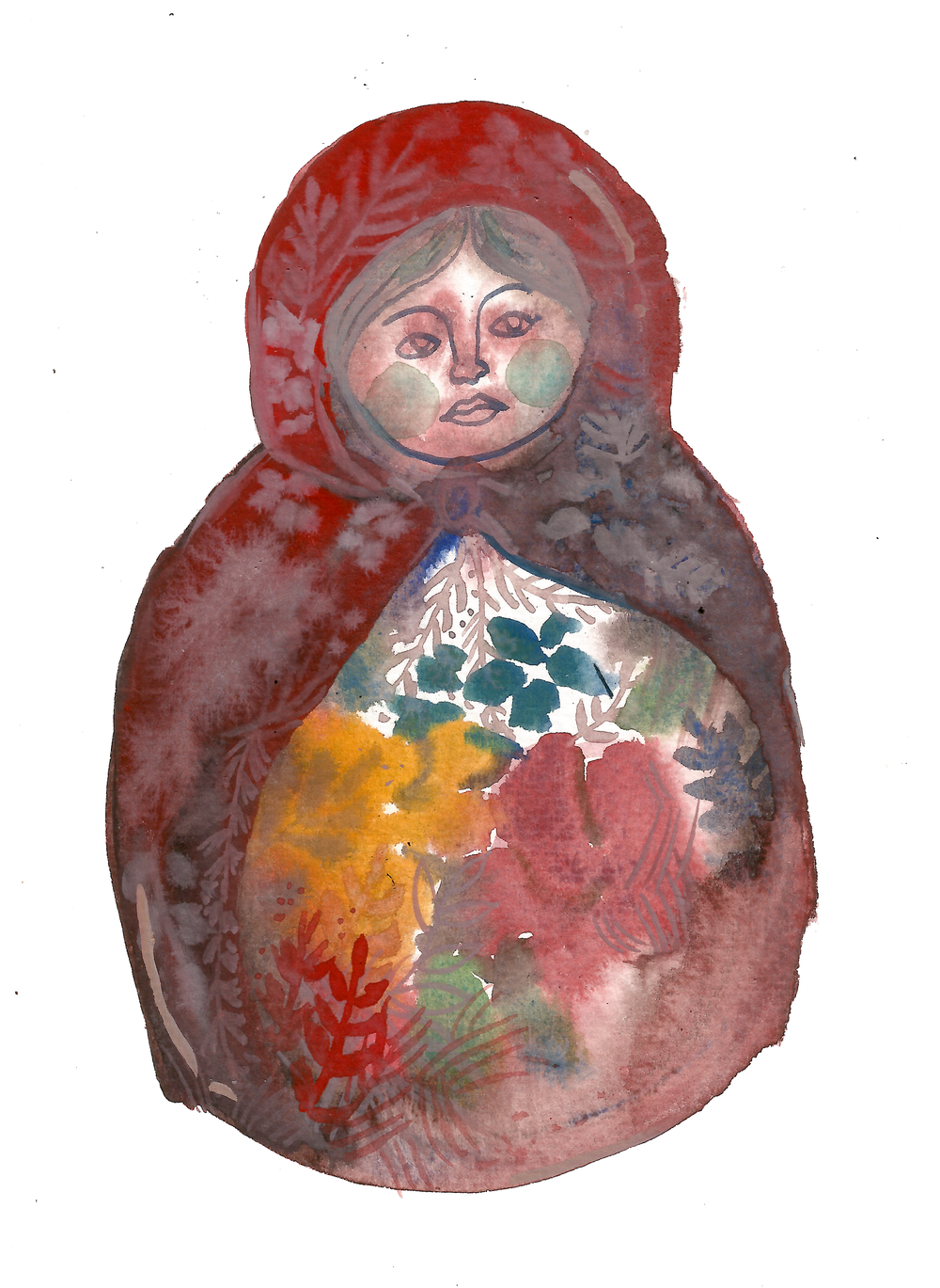 """i carry within me every age, every version of myself that I've ever been"" (matryoshka)"