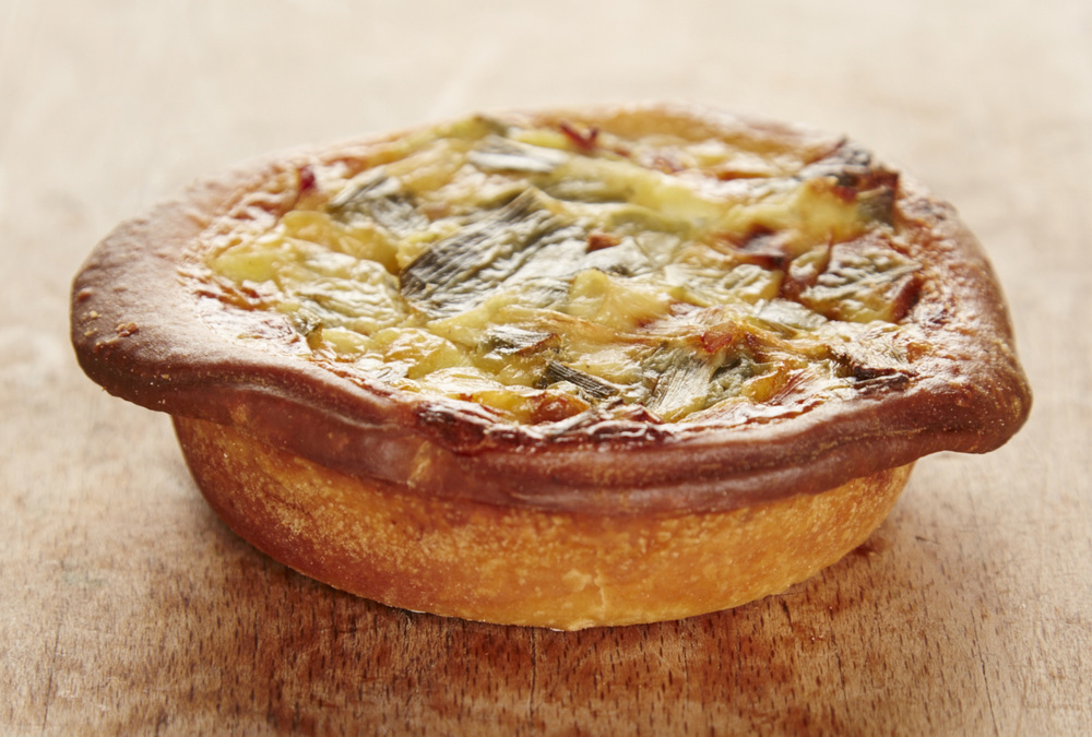 Boulangerie Jade Leek And Bacon Quiche