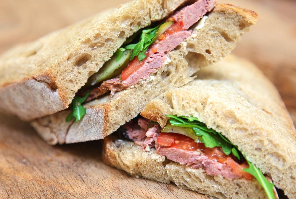 Boulangerie Jade Pate Sandwich
