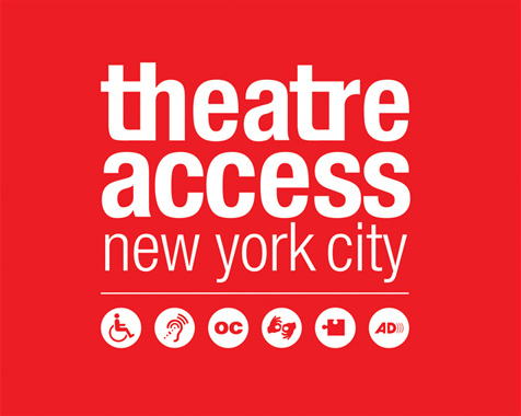 theatre access logo